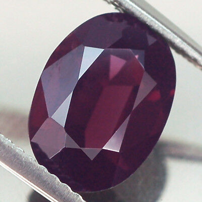 3.19Ct Gorgeous Aa Oval Purple Red Spinel Natural