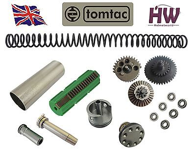 Airsoft Aeg V2 Gears Full Tune Up Upgrade Kit Set For Mike4 Cnc Metal High Uk