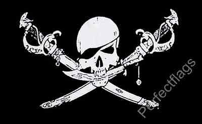 BRETHREN OF THE COAST FLAG - PIRATE AND SKULL FLAGS - Size 5x3, 8x5 Feet