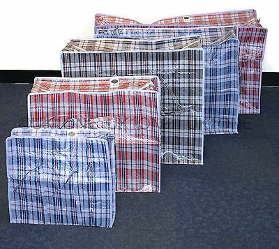 New Strong Quality Small Jumbo Storage Laundry Zipped Bag Recycled Reusable