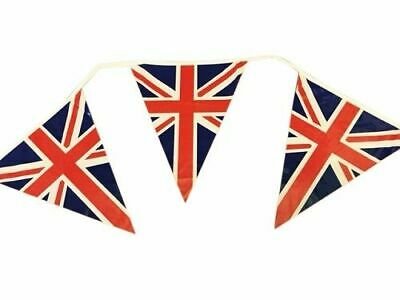 British Union Jack GB Triangle Bunting Flags Great Britain UK Party Sports 25ft