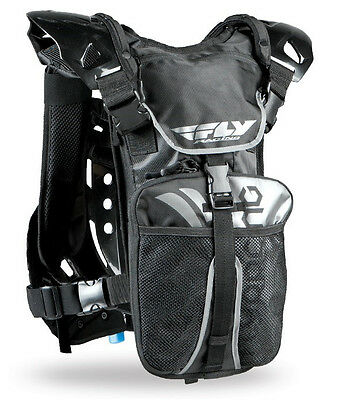 FLY Racing Stingray Ready-To-Ride Hydration Pack Roost Guard Black 28-5175