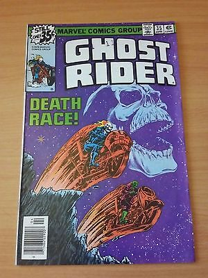 Ghost Rider #35 ~ VERY FINE - NEAR MINT NM ~ 1979 MARVEL COMICS
