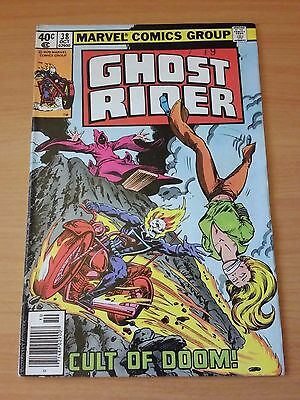Ghost Rider #38 ~ VERY FINE - NEAR MINT NM ~ 1979 MARVEL COMICS