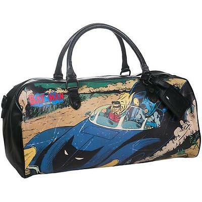 Batman - Vintage Art Weekend Bag / Holdall - New & Official DC Comics With Tag