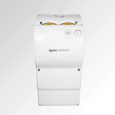 Dyson Airblade AB03 Refurbished Hand Dryer in White.