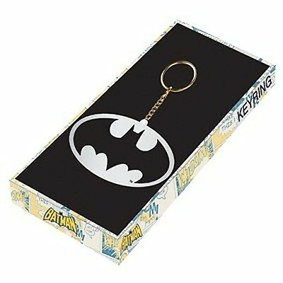 Batman Metal Gift Box Keyring 100% Official Product Dawn Of Justice Dark Knight