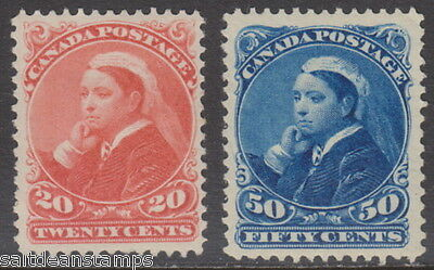 CANADA - 1893 20c. and 50c. (2v) - MM / MH