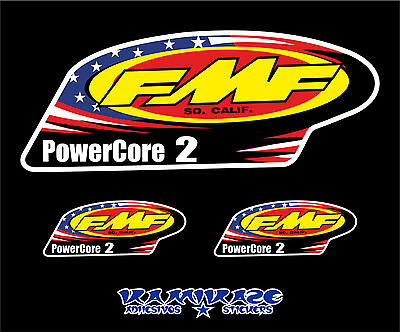 Pegatina Sticker Autocollant Adesivi Aufkleber Decal Fmf Powercore 2