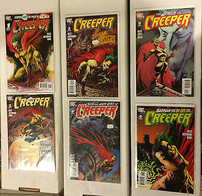 The Creeper 1 2 3 4 5 6 Complete NM/M