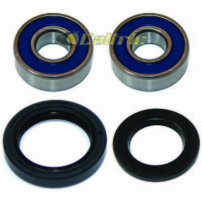 Front Wheel Ball Bearing and Seals Kit Fits KAWASAKI EX500 Ninja 500 500R 94-09