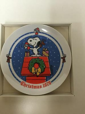 Schmid Christmas 1979 Peanuts by Charles M. Schulz Limited Edition Plate
