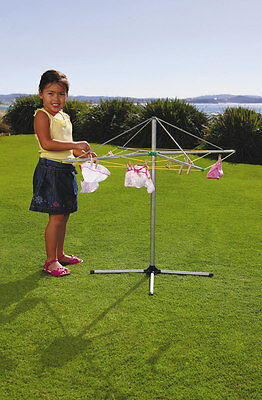 Orbit Metal Clothes Line Kids Hills Hoist Washing Play
