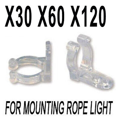 Rope Light Gutter Hooks / Clips - Specially for Christma Tube LIights 11MM--13MM