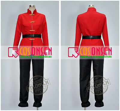 Cosonsen Ranma 1/2 Ranma Saotome Cosplay Costume All Sizes Custom Made