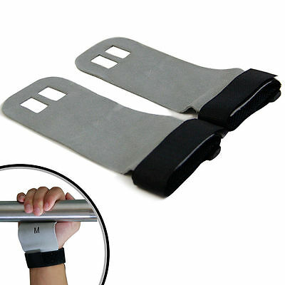 Crossfit Gym Training Leather Palm Protector Gymnastics Grip Pull Up Hand Guards