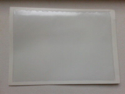 QTY 50 permit holder outside measurement size 100mm x 100mm