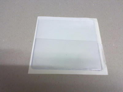 Job Lot Qty 50 Clear Permit Holder With Extra Front Pocket