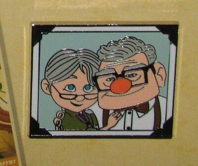 Disney Pin Carl and Ellie older old New UP