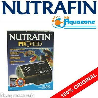 Nutrafin * Hagen * Nutramatic 2X Automatic Feeder Fish * Programmable Profeed