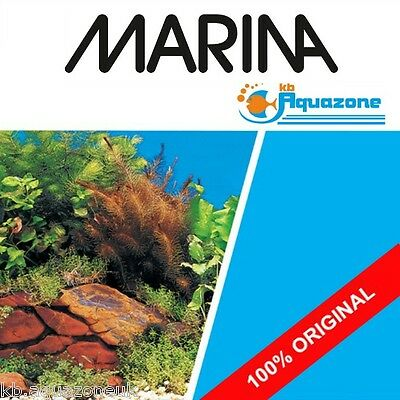 MARINA * Double Sided Aquarium Background 45 cm High Plants, Rock 2 3 4 5 6 ft