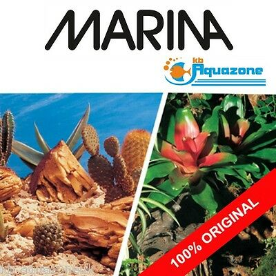 MARINA * Double Sided Background 30 cm High* 2 3 4 5 6 ft  Bromeliad / Terrarium