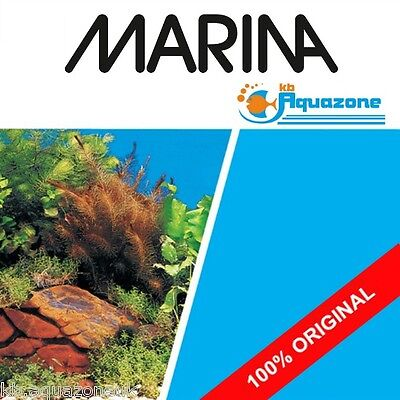 MARINA * Double Sided Background 30 cm High* 2 3 4 5 6 ft  Plants , rocks blue