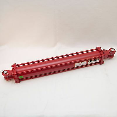"""Tie Rod Cylinder 3.5"""" x 24"""" Hydraulic Double Acting, 3.5 IN Bore x 24 IN Stroke"""
