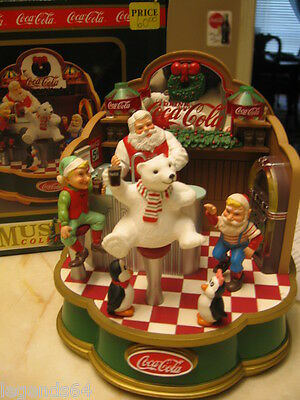 Coca Cola Musical - Santa's Soda Fountain  - Nib