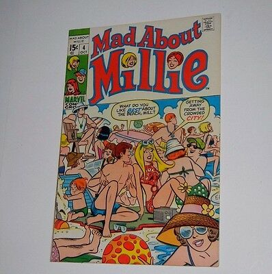 Mad About Millie #4 Oct 1969, Marvel Comics - Very Fine Condition