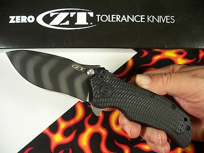 ZERO TOLERANCE usa 0303 Tiger Stripe STRIDER / ONION 0301 Spring Assist knife ZT