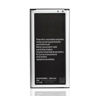 US New Replacement Battery For Samsung Galaxy S5 i9600 2800mAh EB-BG900BBC