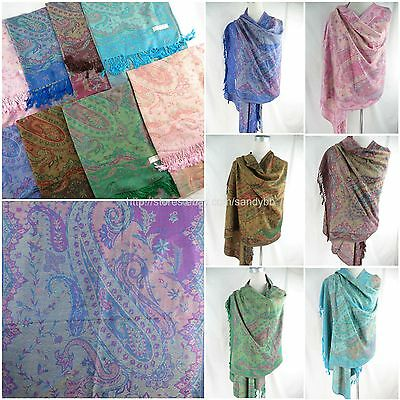 wholesale 10pc  bohemian paisley viscose pashmina shawl scarf scarf sale