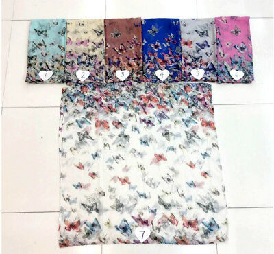 $3.15/p, 30 large scarf sarongs bulk lot dragonfly Boho retro butterfly floral