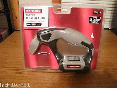 Craftsman Bolt On -Pivoting LED Work Light- (9-44933) *20 Volt MAX*  (R1)