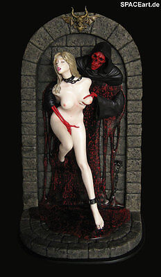 Power of Hell: Hell Seducer - Blonde Edition / Statue / Blackberry