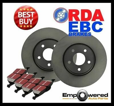 FRONT DISC BRAKE ROTORS + PADS for Ford Mondeo *13.8mm Holes* 2007-2015 RDA8107