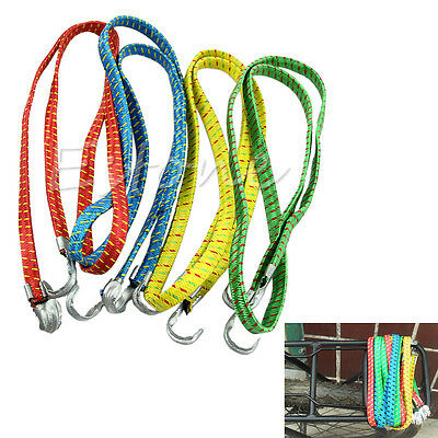 New Bicycle Luggage Rope Strap Tie Fixed Band Banding Bungee Elastic Rope 120cm