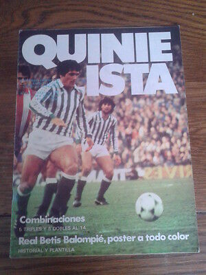 QUINIELISTA nº 16. POSTER: REAL BETIS (82/83)