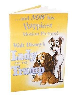 Lady And The Tramp Notebook Classic Disney Film Poster Motion Picture Official