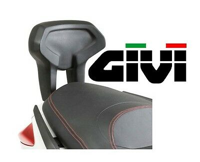 Dosseret passager GIVI YAMAHA X-Max 125 250 Xmax 10-13 dossier maxiscooter TB55