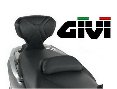 Dosseret passager GIVI YAMAHA Tmax 500 T-Max 2001 2007 dossier maxiscooter TB51