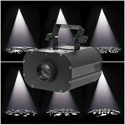 Equinox Promo Spot 25w LED Gobo / Logo Wedding Image Projector Custom Projection