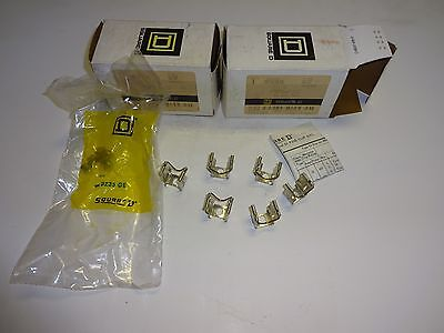 LOT OF 2 SQUARE D 9999 S2 9999S2 9999-S2 Fuse Clip Kit New NIB