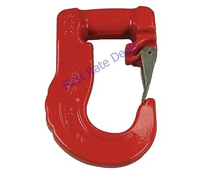 LIFT-ALL DCH4 Sling Hook Steel 13200 lb Red Painted 39A379 Cartec Direct Connect