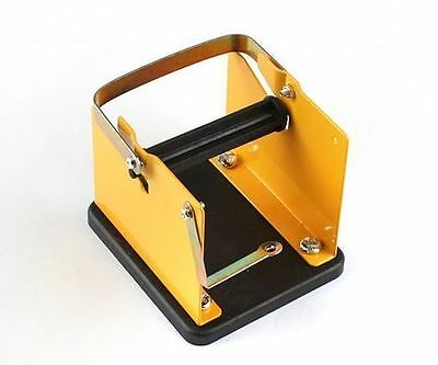 New Soldering Wire Reel Metal Holder Stand Support Solder Rack Yellow Frame AU