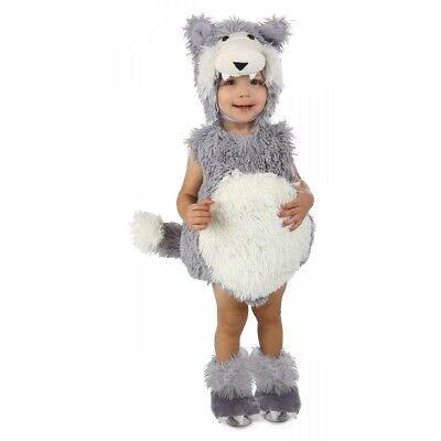Big Bad Wolf Costume Baby/Toddler Outfit Halloween Fancy Dress Up