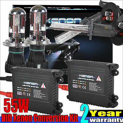 55W HID Xenon Headlight Conversion KIT H1 H3 H4 H7 H11/9005 9006 880 9004 9007
