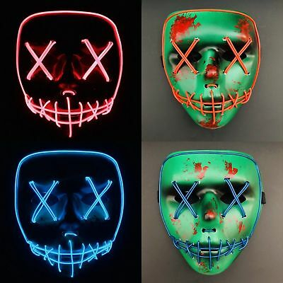 The purge cross mask Anarchy movie mask horror purge masked Halloween Costume