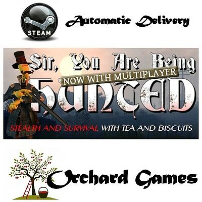 Sir, You Are Being Hunted : PC MAC LINUX :  Steam Digital : Auto Delivery